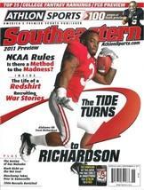 Trent Richardson unsigned Alabama Crimson Tide Athlon Sports 2011 College Footba - $10.00