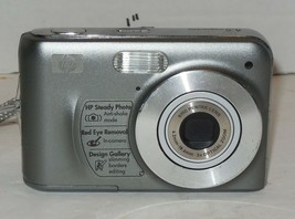 HP PhotoSmart M737 8.0MP Digital Camera - Silver - $35.06