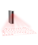 Virtual Keyboard, Wireless Laser Projection Keyboard with 5200 mAh Power... - $58.00