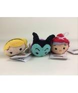 Disney Tsum Tsum Sleeping Beauty Plush Stuffed Toy Maleficent Aurora Flo... - $19.75