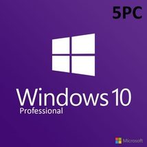 Microsoft Windows 10 Professional 5PC - Product key - $48.99