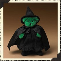 "Boyds Bears ""Wicked Witch Of The West""- #904374 -7 Plush Bear- Wizard of... - $39.99"