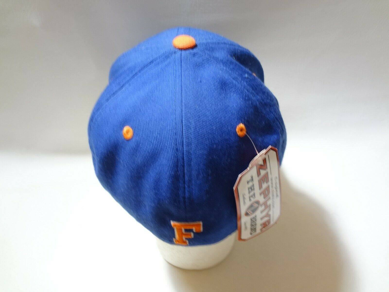 New University Of Florida UF Zephyr Fitted Cap Hat 7 1/2 Z brand College  image 6