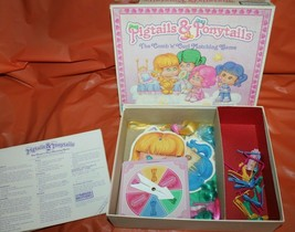 Parker Brothers Pigtails And Ponytails Comb and Curl Vintage Board Game 1989 image 2
