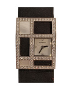 Authentic Chanel White Gold Diamond Mother of Pearl 1932 Art Deco Wrist ... - $5,841.00