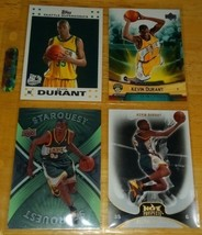 Kevin Durant LOT(4) Rookie Cards Mint Condition US Free Shipping - $17.73