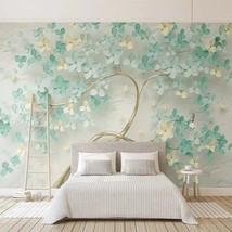 "3D Wallpaper ""Green Flowers Tree"" - $30.00+"
