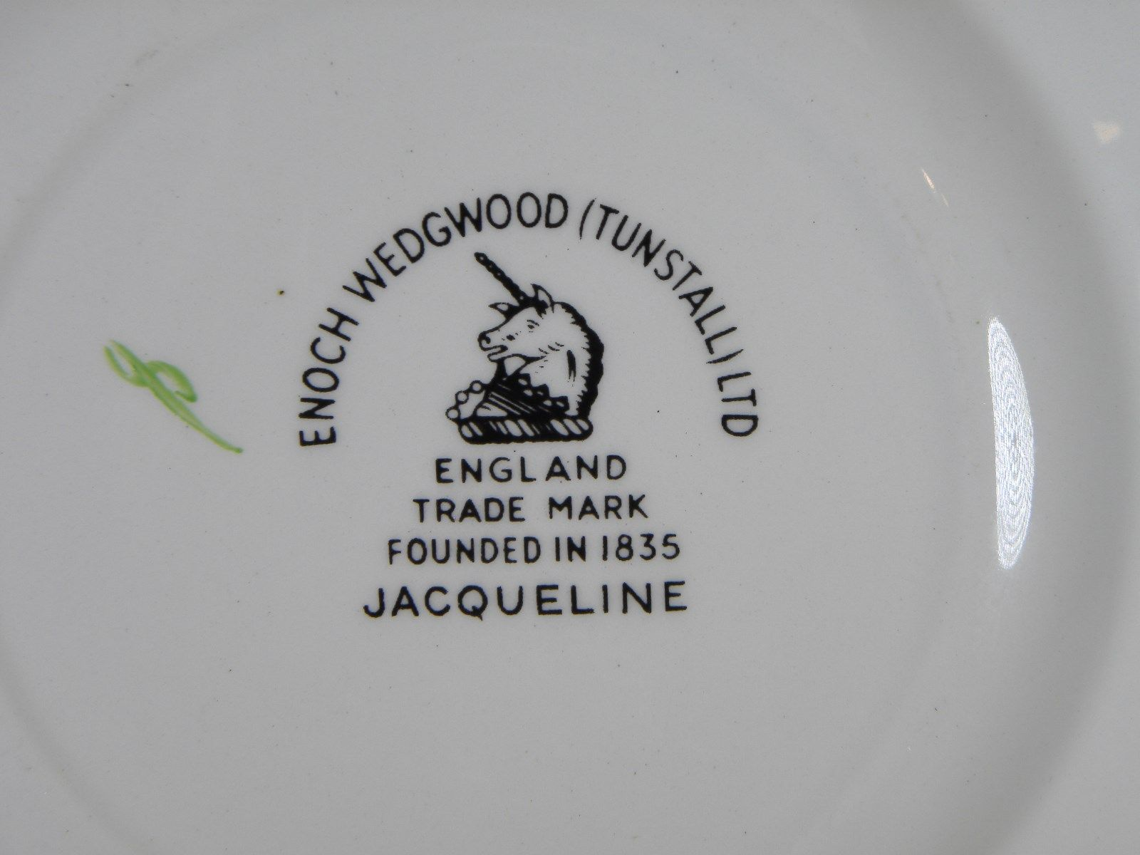 Enoch Wedgwood Jacqueline Bread & Butter Plates Set of 4 image 2