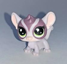 Littlest Pet Shop 2-109 Mischief Pals Shug Gliderman mini sugar glider green eye - $9.89