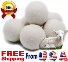 XL 6 Pack TOP RATED EcoJeannie Wool Dryer Balls... - $17.25