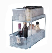 Design Ideas Cabinet Baskets Mesh Silver - $40.56