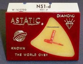 Astatic N-51-d PHONOGRAPH NEEDLE for Astatic 133 Cartridges 164-D7 image 1
