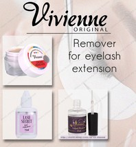 NEW! Viviene  Liquid | Gel | Cream remover | for eyelash extension  remo... - $26.73+