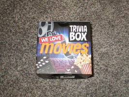 We Love Movies Trivia Box, New In Box - $9.49