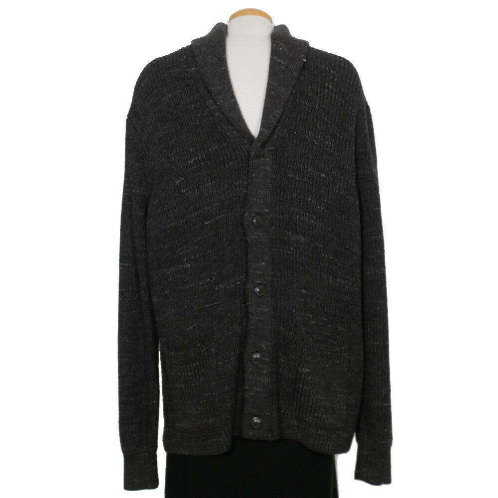 New Men's Chaps by Ralph Lauren Mock Neck Quarter-Button Sweater MSRP $70