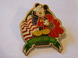 Disney Trading Pins 42567 WDW - Veteran's Day 2005 (Mickey Mouse) - $9.50