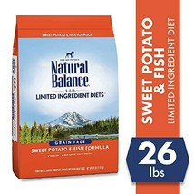 Natural Balance L.I.D. Limited Ingredient Diets Dry Dog Food, Sweet Potato & Fis