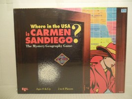 Where in the USA is Carmen Sandiego? The Mystery Geography Board Game NE... - $31.57