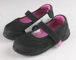 Cat & Jack Mädchen Schwarz Lila Eva Slipper Flache Sneakers Kleinkind Größe 9 US