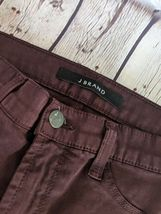 J.BRAND | Women's Size 25 Super Skinny Pinot Purple Jeans Pants Stretch image 4