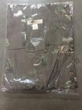 NWT Men's Joe Marlin Hawaiian Tropical Short Sleeve Shirt 2XLT Green - $29.59