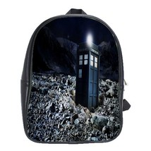 Backpack School Bag Limited Addition Doctor Who Tardis Van Gogh Paint Fo... - $33.00