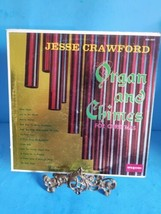Jesse Crawford organ and chimes for Christmas 33 & 1/3 LP RECORD silent ... - $11.29