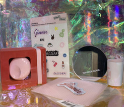 NEW IN BOX discontinued Glossier You SOLID perfume POCKET MIRROR you look good +