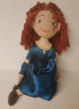 "12"" Brave Merida Sitting Down Disney Movie Cartoon Plush Stuffed Animal - $12.59"
