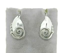 Sterling Handwrought La Paglia Earrings #220 (#J4757) - $225.00