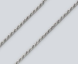 Rope Chain Necklace - 24 inch* (1.7mm* wide) - Sterling Silver - Made Italy - $18.65