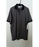 Falls Creek Mens Black Shirt Large Tall Golf Polo Casual 351632 - $14.99