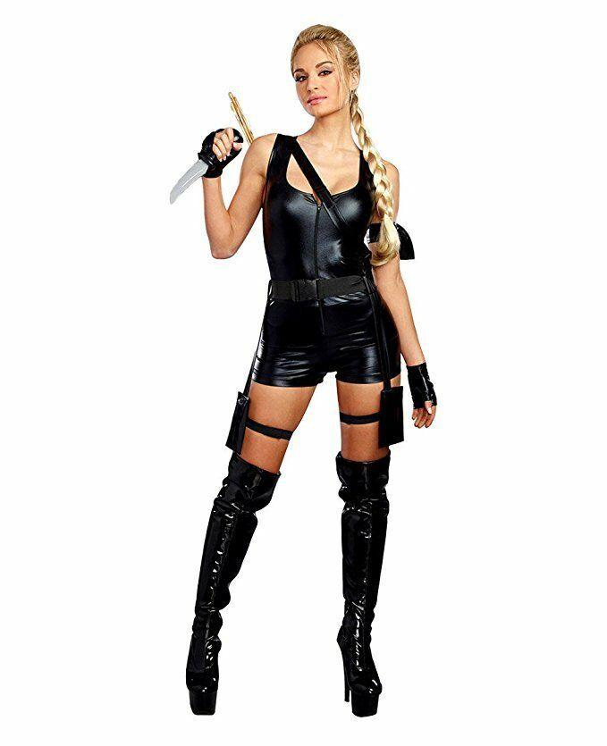 Dreamgirl Mighty Raider Laura Croft Tomb Raider Womens Halloween Costume 10657