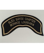 HARLEY DAVIDSON MOTORCYCLES BLEU BAYOU CHAPTER MONROE LOUISIANA BANNER P... - $14.85
