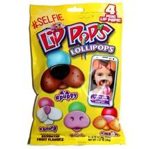FLIX CANDY 4pc #SELFIE LIP POPS Candy MINI LOLLIPOPS Dog+Cat+Bunny+Pig E... - $2.96