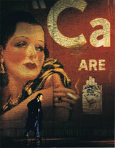 1998 Camel Cash Cigarette Ad Lady Painted on Brick Wall Products Ad ~ 4 ... - $9.99