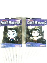Lot of 2 Netflix SUPER MONSTERS 4 Inch Figures - Drac Shadows & Cleo Graves - $23.27