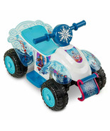 new Kid Trax 6V Disney Frozen 2 Sing and Ride Powered Ride-On - Blue - $125.44