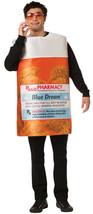 Rasta Imposta RX Bottle Blue Dream Marijuana Adult Mens Halloween Costume GC1865 - £29.06 GBP