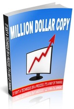 Million Dollar Copy - ebook - $1.79
