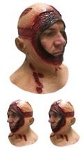 Bloody Hood Mask Overhead Latex Jason Halloween Horror Movie Fancy Dress... - $35.24