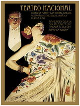 8269.Decoration Poster.Home Room wall art design print.National theater.Nouveau - $11.30+