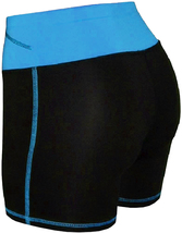 Women's W Sport Two Tone Athletic Work Out Fitness Stretch Gym Shorts AP-4815 image 10