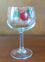 "4 Franciscan Apple 12 oz 6 ½"" Balloon Wine Goblet(s) - $32.62"