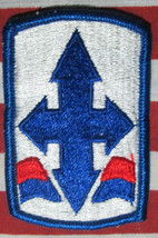 US Army 29th Infantry Brigade Combat Brigade Color SSI Patch M/E - $5.00