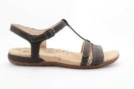 Women's Tara M Evie Strap Sandals Black Size US 6 (EPB) 3984 - $55.00