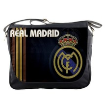 Messenger Bag Real Madrid Logo New Spain Football Club Team For Game Sports Anim - $30.00