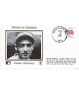 JOHNNY FREDERICK BROOKLYN DODGERS BROOKLYN NY OCTOBER 9 1995 Z SILK  - $2.98