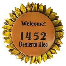 Sunflower Home Address Sign - $110.53