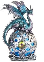 George S. Chen Imports StealStreet SS-G-71512 Dragon on Light Up LED Orb... - $21.95